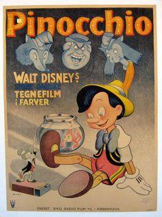 Pinocchio, Disney, 1940