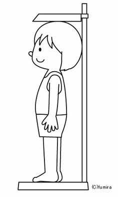 Staand meten People Coloring Pages, Colouring Pages, Coloring Books, Easy Arts And Crafts, Kids Scrapbook, Cute Clipart, Science Activities, Cartoon Kids, Coloring For Kids