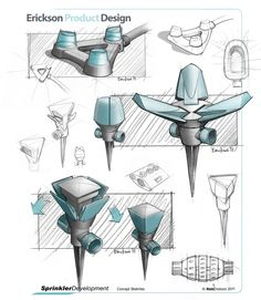 Concept Sketch Port.gif (773×888) Lamp Design, 3d Design, Bath Mixer, Cool Doodles, Industrial Design Sketch, Typographic Poster, Concept Board, Sketch Design, Coffee Machine