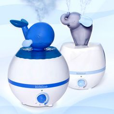 Animal humidifiers.  I would want the wale since I'm from Wales, and I know my friend Jerri would love the Elephant!