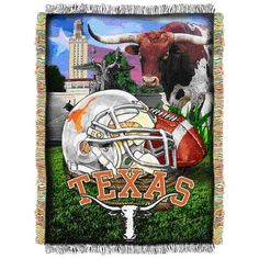 "NCAA Texas Longhorns 48""x60"" Acrylic Tapestry"