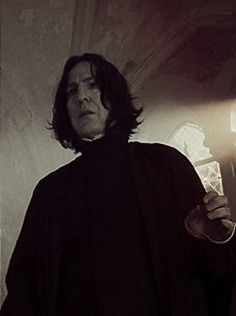 """Dᴏɴ'ᴛ. Lɪᴇ. Tᴏ ᴍᴇ."", Professor Severus Snape, Alan Rickman Severus Snape, Severus Rogue, Slytherin, Hogwarts, Dark Lord, Harry Potter Characters, Voldemort, Half Blood"