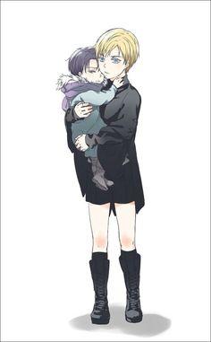 Shingeki no Kyojin - Erwin and Levi - Kid