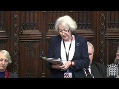 Baroness Helene Hayman speaks at the House of Lords on NTDs