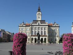 City Hall. The City Hall was planned by György Molnár. It was built in 1895 in neorenaissance style.Today the Mayor's residence. (Photo by László Takács).