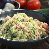 Fotografie receptu: Kuskusový salát tabouleh Yami Yami, Tofu, Couscous, Guacamole, Quinoa, Potato Salad, Grains, Salads, Good Food