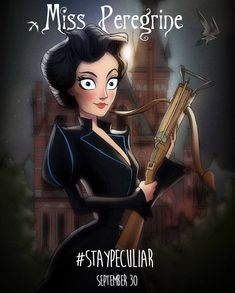 Meet the Peculiars with this custom Miss Peregrine's Home for Peculiar Children art from Andrew Tarusov Pin-Up & Illustration.