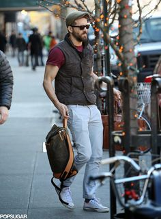 Pregnant Blake Lively and Ryan Reynolds wrapped up their short trip to NYC Blake Lively Ryan Reynolds, Star Fashion, Mens Fashion, Short Trip, Street Outfit, Celebrity Look, Summer Looks, How To Look Better, Nyc