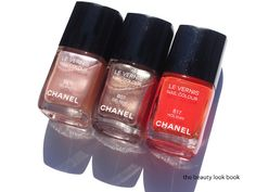 """Chanel Summer 2012...love them all, especially """"Holiday""""...reminds me of the tropics..."""