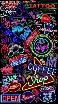 Iphone wallpaper - image is shared by Emma. Find retro, rainbow and neon images and videos on . - Mypin - Iphone wallpaper – image is shared by Emma. Find retro, rainbow and neon images and videos on … - Tumblr Wallpaper, Neon Wallpaper, Aesthetic Iphone Wallpaper, Wallpaper Quotes, Aesthetic Wallpapers, Retro Wallpaper Iphone, Heart Wallpaper, Lock Screen Wallpaper, Wallpaper Ideas