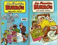 la familia burron comics | La Familia Burron G Y G Oficinas Comic 80´s