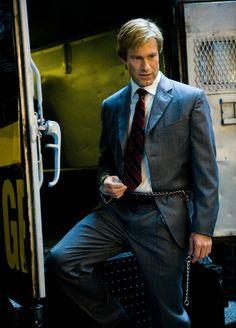 Aaron Eckhart as Harvey Dent in The Dark Knight