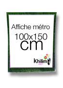 Affiche métro 100x150cm  #affiche #metro