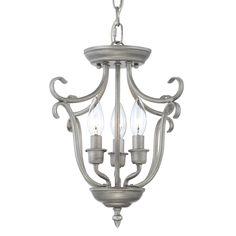 Millennium Lighting 1323-R Fulton 3-Light Foyer Light