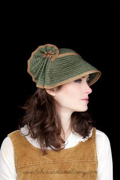 Straw Hat Behida Dolic Millinery by behidadolicmillinery on Etsy