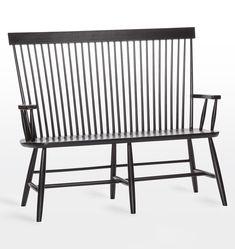 High Back Bench - Furniture - Kitchen & Dining - Rejuvenation Reupholster Furniture, Bed Furniture, Vintage Furniture, Office Furniture, Entryway Furniture, Furniture Movers, Design Furniture, Metal Furniture, Kitchen Furniture