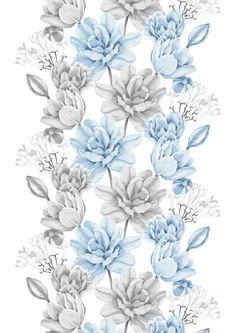 Lilja, blue by Tanja Orsjoki