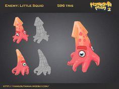 Hamusutaman asset Blog - AlfonMC squid