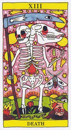 Death - Tarot del Fuego