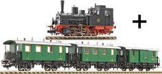 Fleischmann 99999 - Convoglio Locomotiva a vapore T3 e 3 carrozze societa' veneta a 199.65 EUR