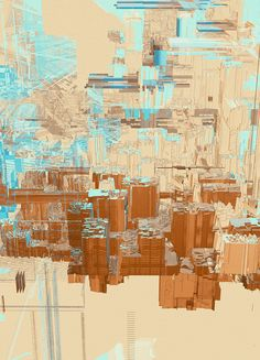 "Atelier Olschinsky's ""Cities"" series. via Volume."