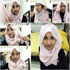 Hijab Tutorial #Hijabtutorial Simple hijab tutorial step by step Hijab hijabi hijabfashion fashion muslimah muslim ootd ootdhijab hijabista hijabstyle