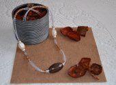 Collana note d'autunno, by Manidifatabijou #handmade #bijoux #jewellery