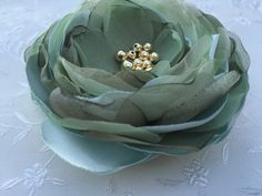 Celery GREEN Flower Hair Clip, Sage green Rose Hair Clip, pale green Fabric Flower Brooch, Baby Large Flower by LittleQueenBowtique on Etsy Green Rose, Green Flowers, Large Flowers, Flowers In Hair, Rose Hair Clip, Flower Hair Clips, Fabric Flower Brooch, Fabric Flowers, Baby Flower Headbands