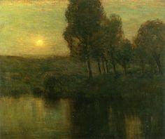 The Athenaeum - The Golden Hour (Charles Warren Eaton - )