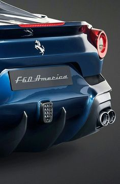 Ferrari F60 America worth $2,500,000. Click for more the most expensive supercars in the world!