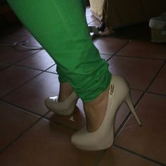 My amazing shoes #nude #heels #love shoes kinda gal ♥