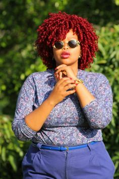 Gorge color and curls!