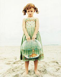 Let them take full responsibility for their pet goldfish #sandbucketlist