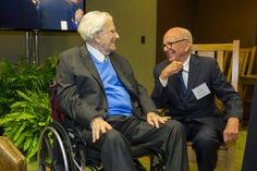 Billy Graham and Rupert Murdoch