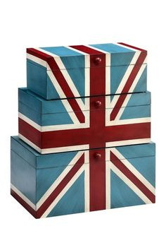 St. George Hand Painted Boxes by Glam Color on @HauteLook