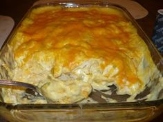 Ingredients 4 cups diced cooked chicken 1 can cream of chicken soup 8 oz. (1 cup) sour cream 2/3 cup milk 1 (4 oz.) can diced ...
