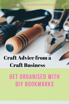 Get organised by making your own bookmarks to help sort your paperwork #bookmark #DIY #crafting