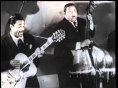 "Slim GAILLARD & His Trio "" Dunkin' Bagel "" ! After you see this video you will know why Jack Kerouac talked about Slim in ""On The Road"" Jazz Music, My Music, Jewish Music, Swing Era, Classic Jazz, Beat Generation, Jack Kerouac, Beatnik, Fancy Hairstyles"