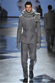 Gorgeous suit and the man too. Hardy Amies Fall Winter 2012