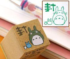Tampon Totoro family