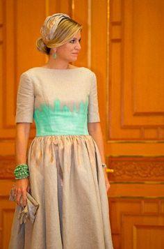 Queen Máxima, November 3, 2014 in Fabienne Delvigne   Royal Hats