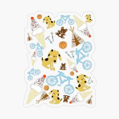 Plastic Stickers, Cool Stickers, Funny Stickers, Personalized Water Bottles, Sticker Design, Sell Your Art, Childhood Memories, Adhesive, Kids Rugs
