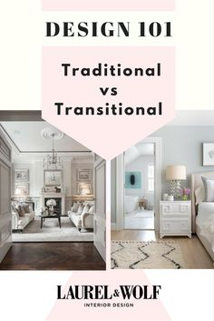 All that you need to know to understand traditional vs transitional interior design. Transitional Living Rooms, Transitional Kitchen, Transitional Decor, Traditional House, Traditional Design, Luxury Home Decor, House Design, Interior Design, House Styles