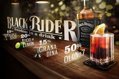 Retouch and letterings for Jack Daniel's Mexico Fanpage