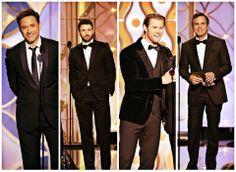 Los Vengadores en el Golden Globe 2014