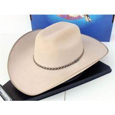 19c2f2d4b3d Resistol Cowboy Hat 4X Beaver Ranch Tan CS Montgomery