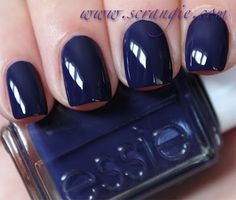 dark blue nails from the Resort Collection 2012