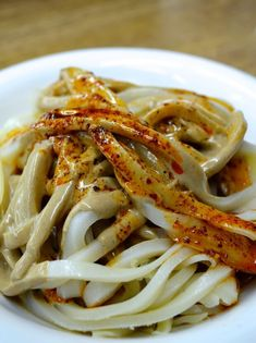 Sesame paste n chili oil handpulled noodles in xian china