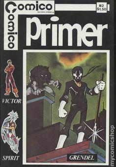 COMICO PRIMER 2, GRENDEL, COMICO COMICS