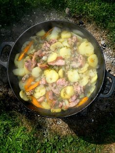 Dutch Oven, Grilling, Cooking Recipes, Meat, Chicken, Dinner, Food, Polish Food Recipes, Iron Pan